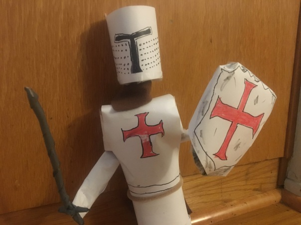 Knights Templar Puppet character design by Jamaal R. James for James Creative Arts And Entertainment Company. miniature stopmotion film