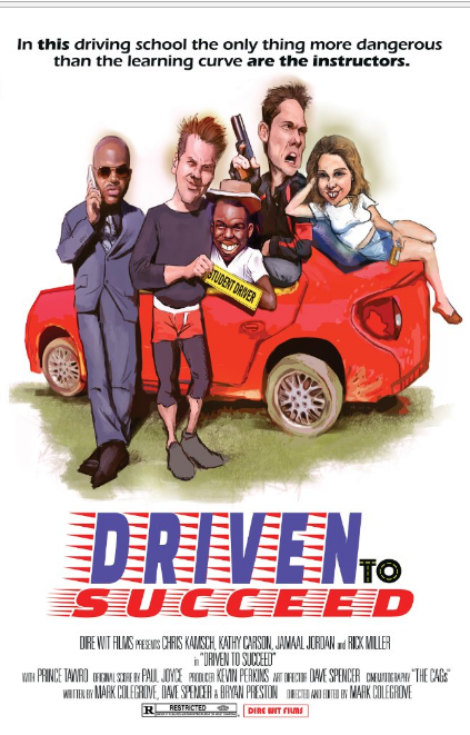 Driven to Succeed Film Cover Art directed by Mark Colegrove