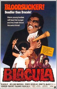 Blacula directed by Wiliam Crain. horror film